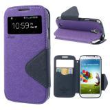Чехол Книжка Roar Для Samsung S5 (Фиолетовый)