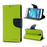 Чехол Книжка Mercury для Samsung I9500 Galaxy S 4 (зеленый)