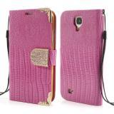 Кожаный Чехол Книжка Fimor Для Samsung Galaxy S5 (Розовый)