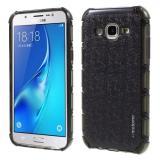 Пластиковая Накладка - Бампер Motomo Для Samsung Galaxy J5 SM-J500H (Черный)