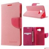 Чехол Книжка Mercury Для Samsung Galaxy S6 (Розовый)