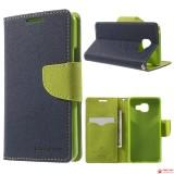 Чехол Книжка Mercury Для Samsung Galaxy S6 (Сине-Зеленый)