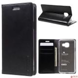 Чехол Книжка Goospery Mercury Для Samsung Galaxy S6 (Черный)