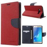 Чехол Книжка Mercury Для Samsung Galaxy J7 2016 Duos SM-J710F (Красный)