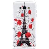 Полимерный TPU Чехол Для Samsung Galaxy J7 2016 Duos SM-J710F (Tour Eiffel)