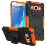 Противоударный Чехол-Трансформер Для Samsung Galaxy J7 2016 Duos SM-J710F  (Оранжевый)