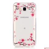 Полимерный TPU Чехол Для Samsung Galaxy J7 SM-J700H (Сакура)