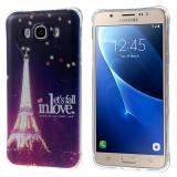 Полимерный TPU Чехол Для Samsung Galaxy J5 SM-J500H (Эйфелева башня)