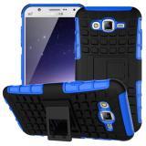 Противоударный Чехол-Трансформер Для Samsung Galaxy J5 2017 Duos SM-J530F  (Синий)