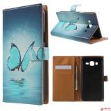 Чехол Книжка Bruno Для Samsung Galaxy J5 SM-J510H (Бабочка)