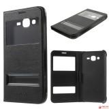 Чехол Книжка Bruno-Folio Для Samsung Galaxy J7 SM-J700H (Черный)