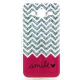 Полимерный TPU Чехол Для Samsung Galaxy J7 SM-J700H (Smile)