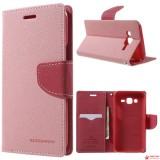 Чехол Книжка Mercury Для Samsung Galaxy J5 SM-J500H (Розовый)