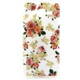 Полимерный TPU Чехол Для  Samsung Galaxy J7 SM-J700H (Цветы)