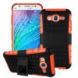 Противоударный Чехол-Трансформер Для Samsung Galaxy J5 2017 Duos SM-J530F (Оранжевый)