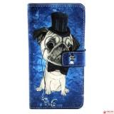 Чехол Книжка Bruno для Samsung Galaxy J2 Duos J200  (Dog)