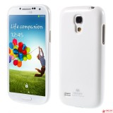 Полимерный TPU Чехол Mercury Для Samsung Galaxy S4 Mini Duos I9192 (Белый)
