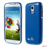 Полимерный TPU Чехол Mercury Для Samsung Galaxy S4 Mini Duos I9192 (Синий)