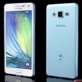 Полимерный TPU Чехол Samsung Galaxy A5 Duos SM-A500 (Голубой)