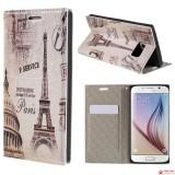 Чехол Книжка City Style Для Samsung Galaxy S6 (Paris)