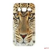 Полимерный TPU Чехол для Samsung Galaxy Core Prime G360H/G361H (Леопард)