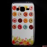 Полимерный TPU Чехол для Samsung Galaxy Core Prime G360H/G361H (Пончики)
