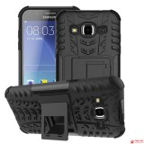 Противоударный Чехол-Трансформер Для Samsung Galaxy J2 SM-J200 (Черный)