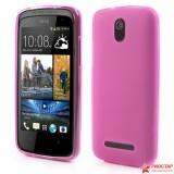 Полимерный TPU Чехол Для HTC Desire 500 (розовый)