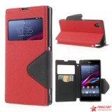 Чехол Книжка Roar Для Sony Xperia Z1 C6903 (красный)