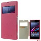 Чехол Книжка Mercury Для Sony Xperia Z1 C6903 (розовый)